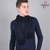 AT-03464-VH10-LB_FR-echarpe-homme-bleue-marine-franges-fabrication-france