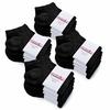 CH-00353-F10-soquettes-coton-femme-noir-20-paires