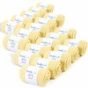 CH-00433-F10-lot-20-paires-de-chaussettes-homme-jaunes-pailles-unies