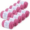 CH-00447-F10-lot-10-paires-de-chaussettes-homme-roses-fuchsia-unies