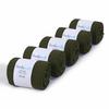 CH-00476-F10-lot-5-paires-de-chaussettes-homme-vert-kaki-unies