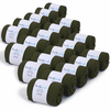 CH-00478-F10-lot-20-paires-de-chaussettes-homme-vert-kaki-unies