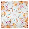 AT-05936-A10-carré-soie-femme-fleurs-oiseaux-orange