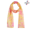 AT-05995-F10-LB_FR-echarpe-mousseline-soie-fleurs-jaune-corail
