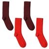 CH-00725-A10-P-lot-4-paires-de-chaussettes-homme-assorties-rouges-unies