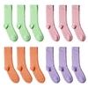 CH-00728-A10-P-lot-12-paires-de-chaussettes-homme-assorties-vert-rose-saumon-mauve-unies