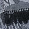 _Chale-femme-gris-noir