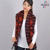 AT-05518_W12-2FR_Chale-femme-motifs-geometriques-marine-rouge