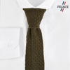 CV-00464_F12-2FR_Cravate-tricot-kaki-fabrication-francaise