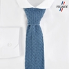CV-00461_F12-2FR_Cravate-tricot-bleu-clair-fabrication-francaise