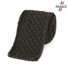 CV-00460_F12-1FR_Cravate-tricot-anthracite-fabrication-francaise