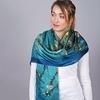 _Etole-soie-femme-turquoise