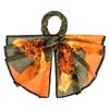 _Etole-soie-tournesols-kaki-orange