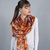 _Etole-soie-florale-orange