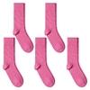 CH-00592_A12-1--_Lot-5-paires-de-chaussettes-homme-roses-fuchsia-unies