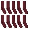 CH-00618_A12-1--_Lot-10-paires-de-chaussettes-homme-rouges-bordeaux-unies