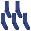 CH-00598_A12-1--_Lot-5-paires-de-chaussettes-homme-bleues-royales-unies