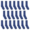 CH-00640_A12-1--_Lot-20-paires-de-chaussettes-homme-bleues-royales-unies