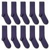 CH-00624_A12-1--_Lot-10-paires-de-chaussettes-homme-aubergines-unies
