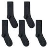 CH-00604_A12-1--_Lot-5-paires-de-chaussettes-homme-grises-ardoises-unies