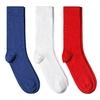 CH-00712_A12-1--_Lot-3-paires-de-chaussettes-homme-bleu-blanc-rouge-unies