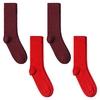 CH-00725_A12-1--_Lot-4-paires-de-chaussettes-homme-assorties-rouges-unies