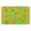 pareo-bali-fleurs-orange-vert-AT-02387-A