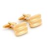 boutons de manchette-rectangle-faux-or-BJ-00045-A16