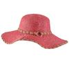 chapeau-capeline-femme-boucle-rose-exotique-CP-00450-RO-F16