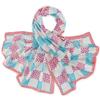 etole-soie-damier-rose-bleu-AT-02932-F16