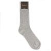 CH-00242-A16-chaussettes homme-laine-cachemire-gris-clair