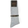 CH-00242-B16-chaussettes homme-laine-cachemire-gris-clair