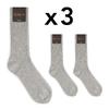 CH-00262-A16-chaussettes homme-laine-cachemire-gris-clair