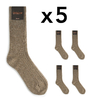 CH-00263-A16-chaussettes homme-laine-cachemire-taupe