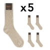CH-00268-A16-chaussettes homme-laine-cachemire-beige