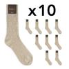 CH-00276-A16-chaussettes homme-laine-cachemire-beige