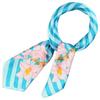 AT-01692-F16-foulard-carre-polysatin-fleurs-de-vanille-turquoise
