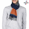AT-03745-marine-orange-echarpe-homme-rayures-bleue-V16
