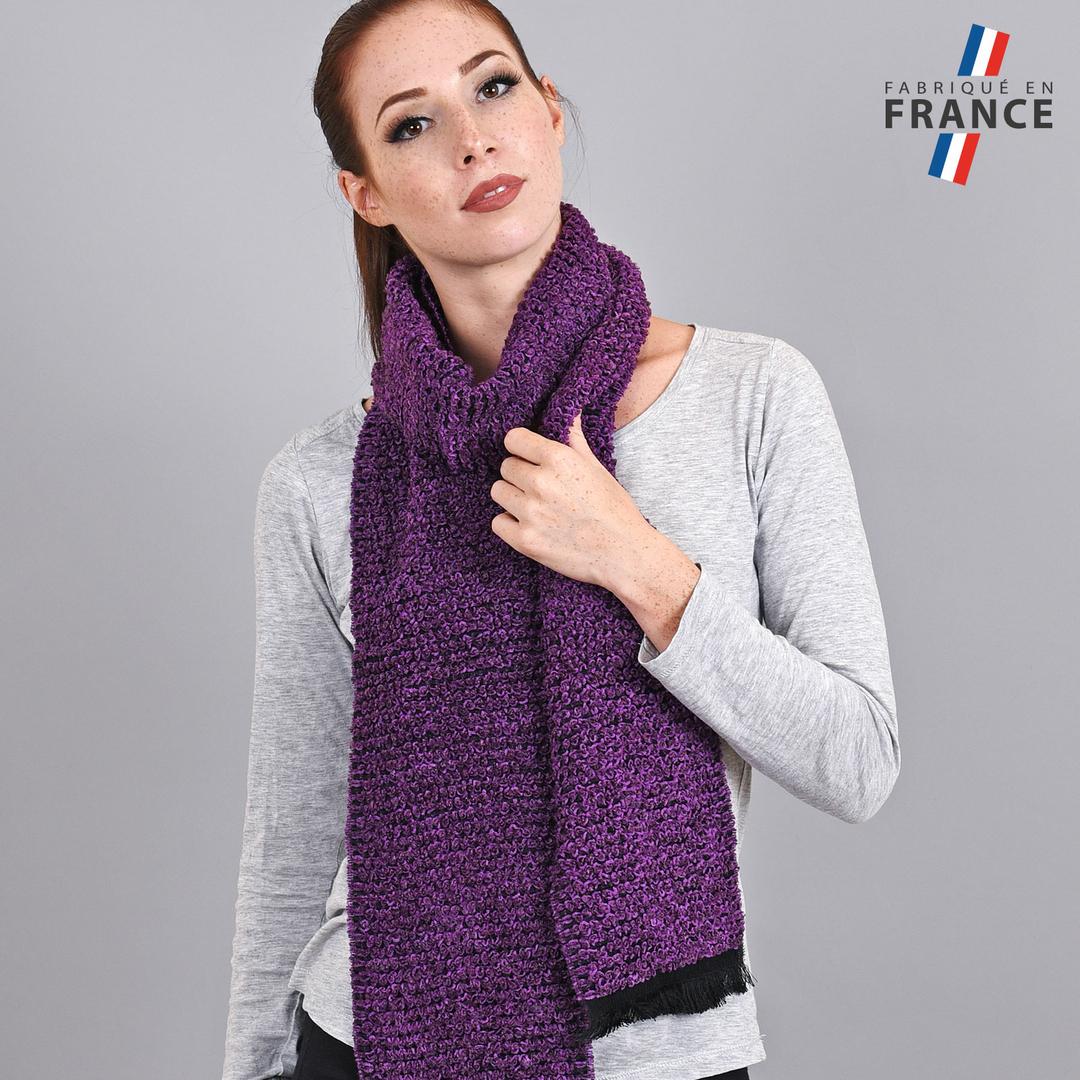Echarpe chaude Violette - Fabrication Française b1eb45dea2f