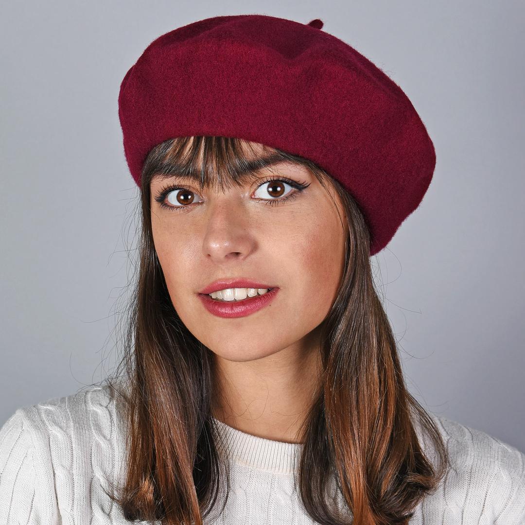 beret femme laine