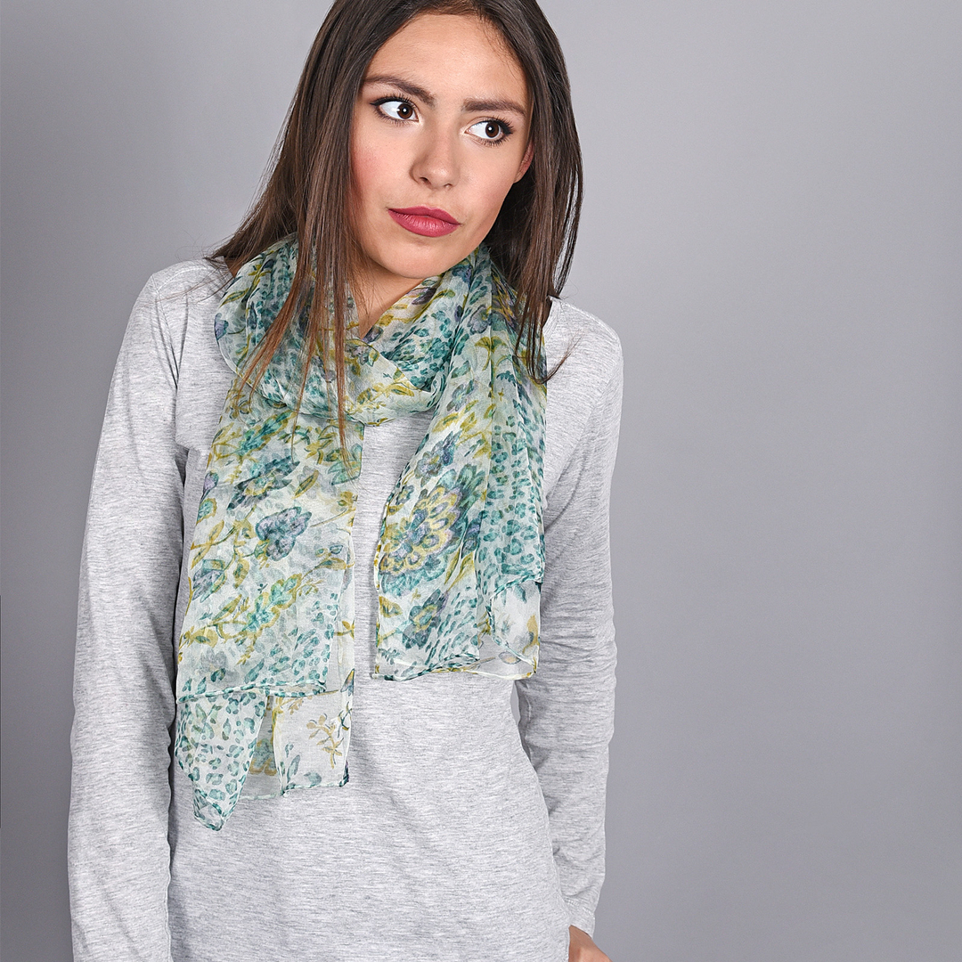AT-03872-vert-V16-foulard-mousseline-soie-fleurs-leopard