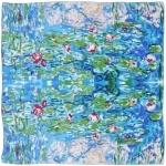 Carré de soie SilkArt <br>Claude Monet <br>Nymphéas
