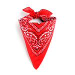 Foulard bandana rouge
