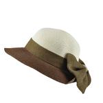 Chapeau casquette Nodo Marron et écru