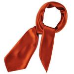Foulard carré Gala <br/>Rouge bismarck