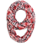 Snood Caroflor Rouge