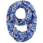 Snood Caroflor Bleu