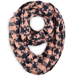 Snood DAMAYE <br/>Rose et Marine
