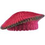 Béret tricot SPARTA <br/>Rose fuchsia