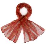 Foulard mousseline de soie <br/>La Roja